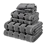 ASAB Egyptian 8pc Towel Bale Set - Charcoal - Best Reviews Guide