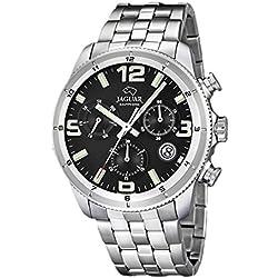 Reloj Jaguar hombre J687/3 cronógrafo negro acero inoxidable 44 mm