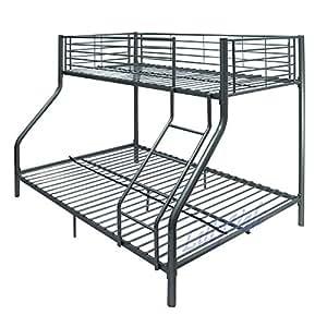 Kms etagenbett mit 3 schlafpl tzen 1 standard for Doppelbett platzsparend