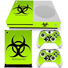 XBOX ONE S Skin Design Foils Pegatina Set - Biohazard Motivo