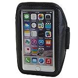 Neopren Sport Armband für Shift Shift4 4,7 - 5,1 Zoll Armtasche Hülle Tasche Etui Case Cover schwarz
