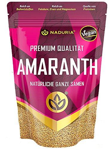 Naduria AMARANTH natürliche ganze Samen 500 Gramm