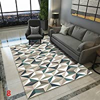 PinShang Anti-Slip Soft Geometric Pattern Carpet Large Size Home Area Rugs for Living Room Kids Bedroom Floor Supplies Geometric 20# 80X120cm