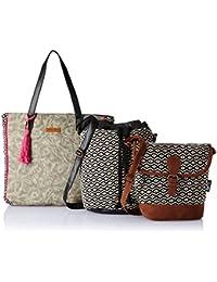 Kanvas Katha Women's Handbag (Multi-Colour)