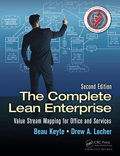The Complete Lean Enterprise: Value Stream Mapping for Office and Services, Second Edition by Beau Keyte (2015-12-10)