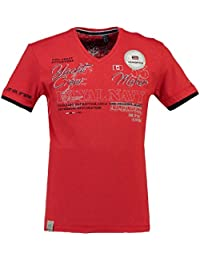 T-SHIRT JOB GEOGRAPHICAL NORWAY RED - L