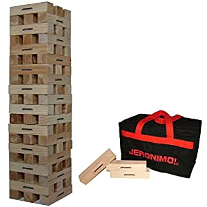 Jeronimo Giant Wooden Tower In A Zipped Bag