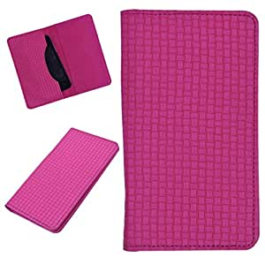 DCR Pu Leather case cover for One Plus 1 (pink)