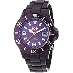 Ice-Watch Ice-Alu Deep purple Unisex Aluminium Bracelet watch AL.DP.U.A
