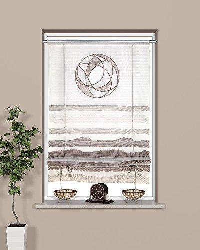 Startex tenda a pannello, poliestere, bianco/grigio, 60x 135cm