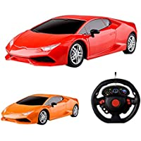 Amazemarket Random 21cm Kids Baby Mini RC Toy 1:18 Scale Supercar Speed Car Model Radio Control 4 Channels Non-Toxic Full Function Remote Control Kids Playmate Gifts (random color) - Compare prices on radiocontrollers.eu