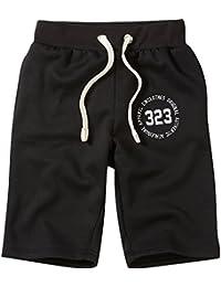 187d0ed479e8f Charles Wilson Collection Essentiel Short Jogging Homme en Jersey avec Logo