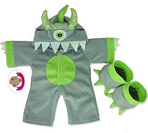 construire votre Ours Armoire 38,1 cm Vêtements Fit construire des ours One Eye Monster Costume