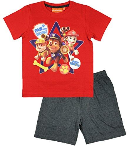 nickelodeon-paw-patrol-kids-summer-pajamas-pjs-shortie-5-years-110-cm-red