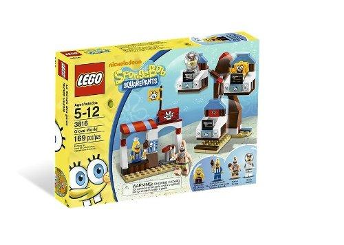 Lego SpongeBob 3816 - Handschuhwelt (Spongebob Schwammkopf Und Patrick Star)