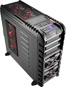 Aerocool Strike-X GT Toolless Mid Tower Gaming Case with Red LED Fans
