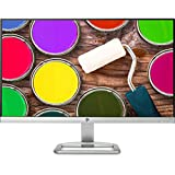 HP 24ea X6W26AA 60,96 cm (24 Zoll) Monitor (VGA, HDMI, 7ms grau zu grau Reaktionszeit) silber/weiß