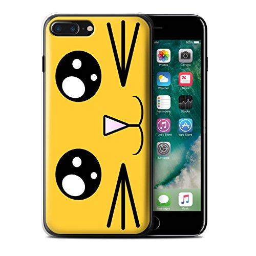Stuff4 Hülle / Case für Apple iPhone 7 Plus / Löwe Muster / Nette Kawaii Kollektion Löwe