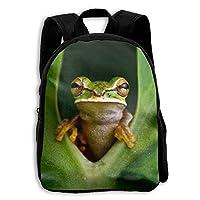 ADGBag Children Boys Girls Frog Backpack Shoulder Bag Book Scholl Travel Backpack