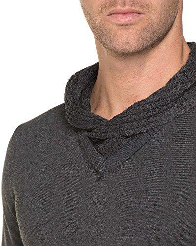 BLZ jeans - Doppelkragen Dunkelgrau Grau