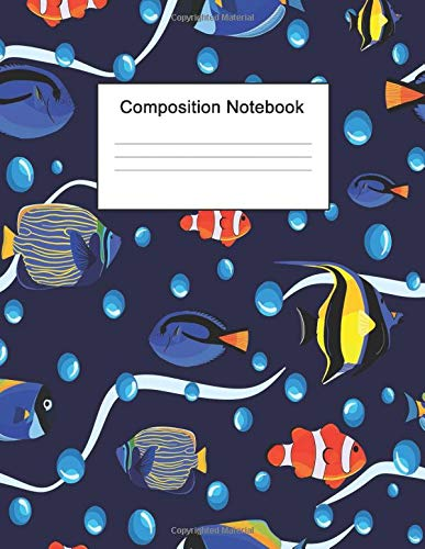 Composition Notebook: 8.5 x 11 College Ruled Journal Paper (Case Ice Rod)
