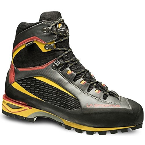 La Sportiva Trango Tower GTX, Stivali da Escursionismo Alti Unisex-Adulto, Multicolore (Black/Yellow 000), 40.5 EU