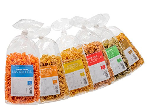 Clever Pasta 6-er Pack Startpaket (6 x 250 g) - 4