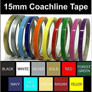 Coach Line | Pin Stripe Tape | 15mm | BOAT/CAR/BIKE | Colour Choice | 10metres