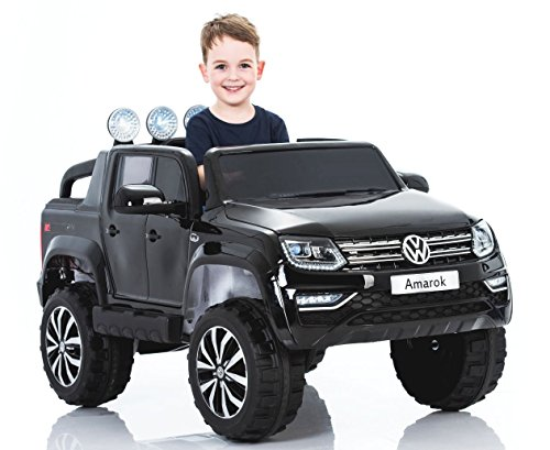 Used, RIRICAR Electric Ride-On Toy Car Volkswagen Amarok for sale  Delivered anywhere in UK