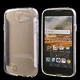 LG K3 Hülle,COOLKE ltradünn Silikon Soft TPU kristallklare Tasche Hulle Schutzhülle für LG K3 / LS450(4.5inch)- Transparent