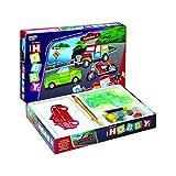 Virgo Toys Hobby Art Vehicles 1 Junior Stencil Art & Craft Kit