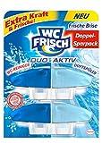 WC Frisch Duo Aktiv Duftspüler Frische Brise, 2 Stück