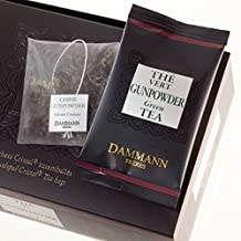 Té Verde China Gunpowder DAMMANN FRÈRES 24 sobres Cristal France thé black teabags (Fra)