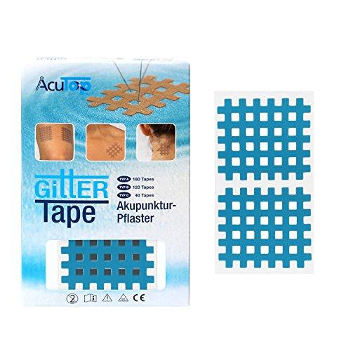 AcuTop Typ C, Gitter Tape, blau - 40 Tapes
