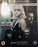 Atomic Blonde Steelbook 4K Ultra HD + Bluray + Dital Download UK Limited Edition Steelbook Region Free