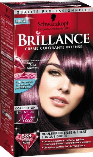 Schwarzkopf Brillance - Coloration Permanente - Eclat de Nuit - Cerise Noire 888