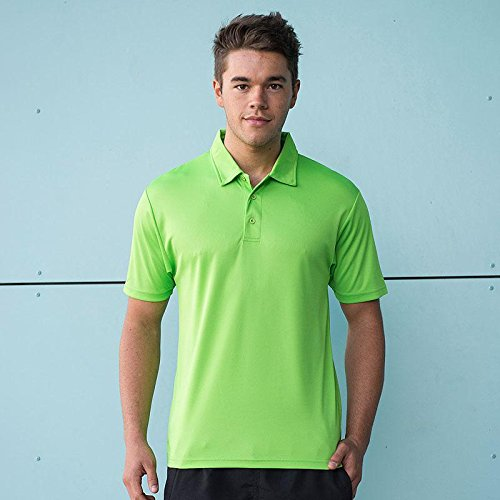 Just Cool - Herren Funktions Poloshirt 'Cool Polo' Electric Pink