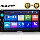 DULCET DC-9911T 240W High Power Stereo Output Universal Fit Double Din 7 inch