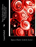 Space Galaxies Odyssey Red Rush Gallery ~Lined Journal...