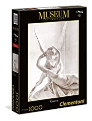 Idea Regalo - Clementoni- Canova Amore e Psiche Museum Collection Puzzle, 1000 Pezzi, 39432