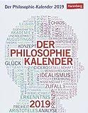 Der Philosophie-Kalender - Kalender 2019