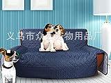 WYN123 Coussin de canapé pour Chien de Compagnie, Tapis de Maison gaufré pour ultrasons, imperméable et résistant à l'usure, Bleu, 116cm x 188cm