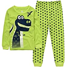 Conjunto de Pijama para niños de Dinosaurio para Coches y niños f5c27dd10d7