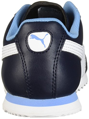 PUMA Unisex-Kids Roma Basic PS Sneaker  Night Sky White  13 M US Little Kid