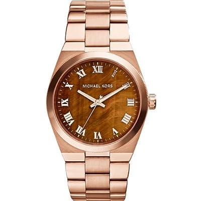 Michael Kors MK5895 - Reloj de cuarzo para mujer, con correa de acero inoxidable, color rosa