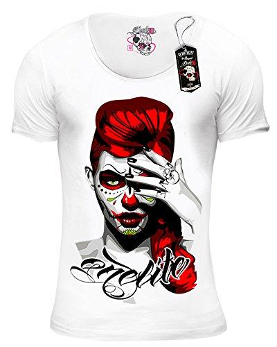DUKE78 Onelife Herren T-Shirt kurzarm regular fit weiß Weiß