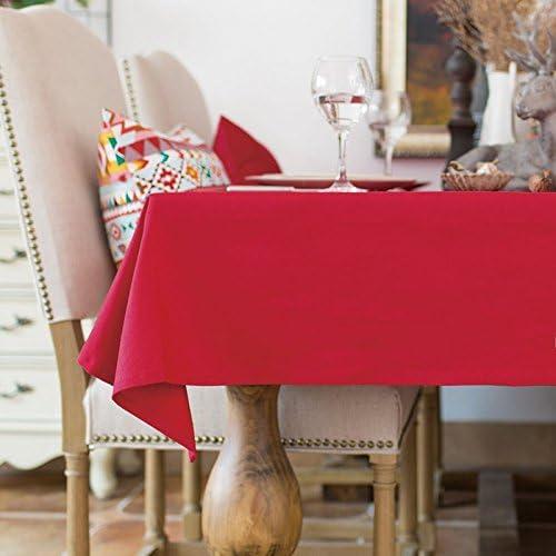 130 x 160 160 160 cm rosso solido scandinavo minimalista Instagram Garden picnic rettangolare da pranzo tovaglia in cotone lino quadrato eco-friendly copre B076BXRW6M Parent | Sale Online  | Ideale economico  | Uscita  dd6e46