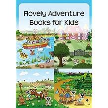 Flovely Adventure Books for Kids: 12 short children´s adventures - Short stories books for kids (English Edition)