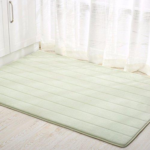 fußabtreter matte matte hall zu hause tür haushalt eau de toilette badematte teppich 50 * 90cm,grüne