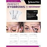 Easy to Use Eyebrow Stencils eyebrow shape by BeauTful